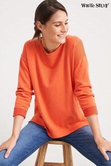 White Stuff Orange Olivia Jumper