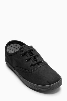 Lace-Up Plimsolls (Older)