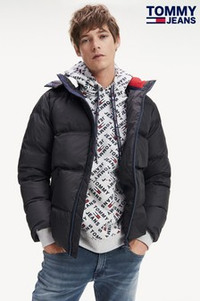 Tommy Jeans Essential Black Down Jacket
