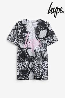 Hype. Animal Print T-Shirt