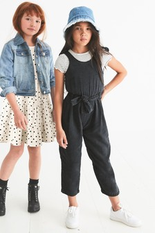 Tie Waist Playsuit And T-Shirt (3-16yrs)