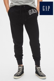 Gap Black Logo Joggers