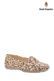 Hush Puppies Leopard Margot Slip-On Shoes