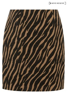 Warehouse Animal Tiger Pelmet Mini Skirt