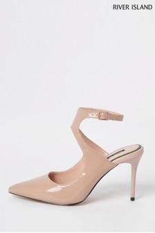 נעליים רשמיות עם עקב בגובה בינוני של River Island דגם Light Turner בוורוד
