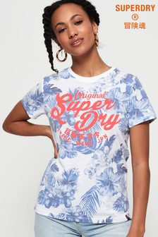Superdry Original Hibiscus T-Shirt