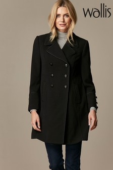 Wallis Petite Military Coat