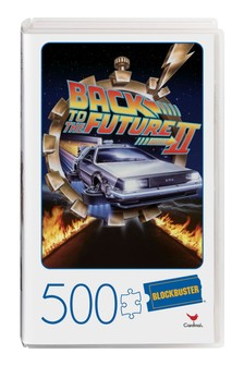 VHS Blockbuster Puzzle Back to the Future