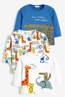 3 Pack Character T-Shirts (0mths-3yrs)