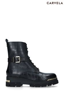Carvela Black Stash Boots