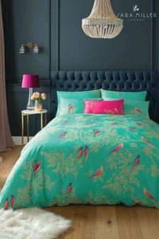 Sara Miller Birds Duvet Cover and Pillowcase Set