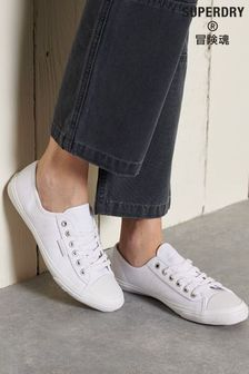 Superdry White Low Pro Sneakers