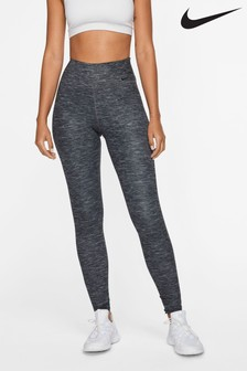 Nike The One Black Luxe Heathered Leggings