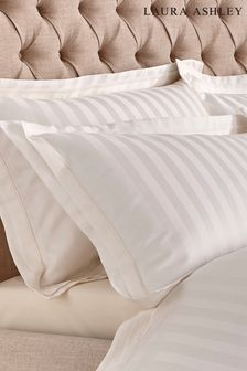 Set of 2 Laura Ashley Shalford 400 Thread Count Pillowcases