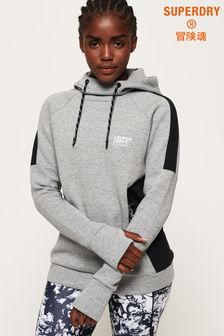 Superdry Core Gym Tech Slouch Hoody