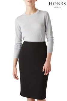 Hobbs Black Anne Skirt