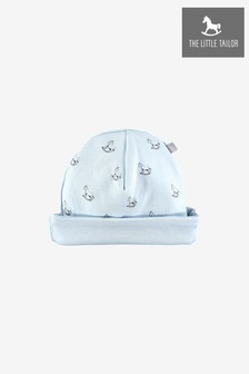 The Little Tailor Blue Rocking Horse Jersey Hat
