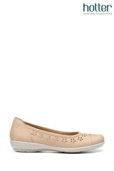 Hotter Livvy Slip-On Ballerina Shoes