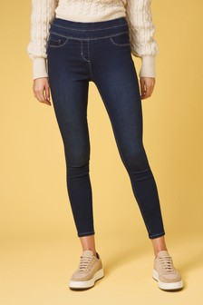Super Stretch Soft Sculpt Pull-On Denim Leggings