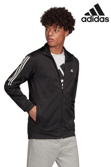 adidas Black Must Have 3 Stripe Track Top