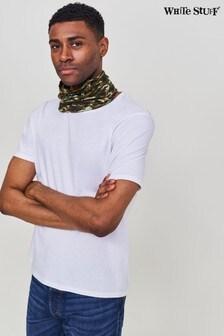 White Stuff Men's Versatile Jersey Roll Snood