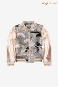 Angel's Face Grey Sandy Heron Jacket