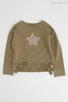 Angel & Rocket Green Star Sweatshirt