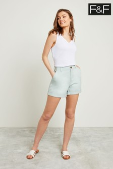 F&F Green Chino Short