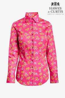 Hawes & Curtis Floral Fitted Shirt