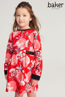 Baker by Ted Baker Red Floral Dress