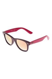 Ray Ban Purple/Pink Copper Gradient Wayfarer Sunglasses