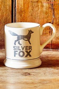 Emma Bridgewater Silver Fox Half Pint Mug