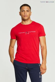 Tommy Hilfiger Red Logo T-Shirt
