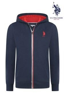 U.S. Polo Assn. Logo Hoody