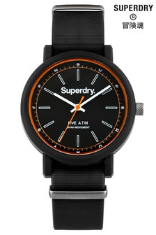 Superdry Campus Nato Black Watch