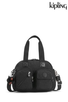 Kipling Black Defea Up Medium Shoulder Bag