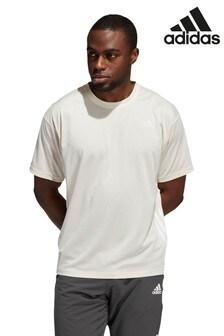 adidas Cream Yoga T-Shirt
