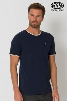Animal Blue Nelson Ringer T-Shirt