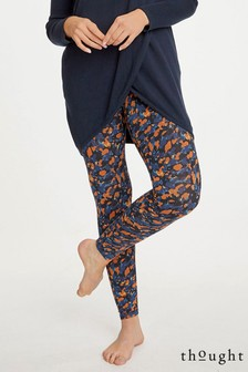 Thought Orange Brigitta Leggings