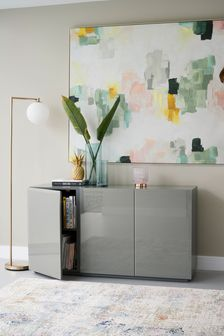 Sloane Grey Large Sideboard