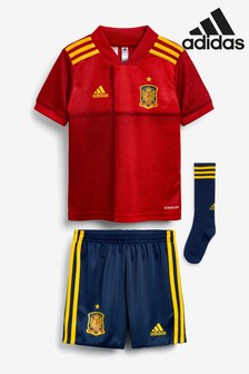 adidas Little Kids Red Spain Home Kit