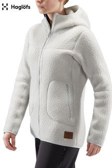 Haglöfs Cream Pile Hooded Fleece