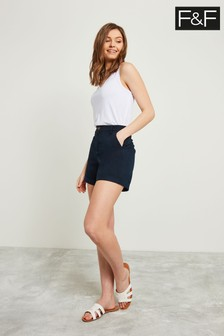 F&F Blue Chino Short
