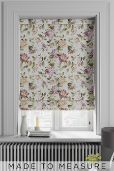 Judson Summer Pink Made To Measure Roman Blind