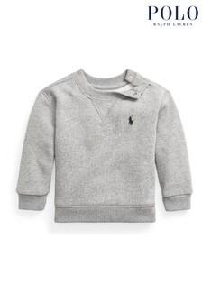 Ralph Lauren Grey Logo Sweatshirt