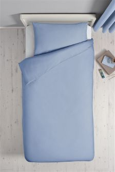 Easy Care Plain Dye Bed Set