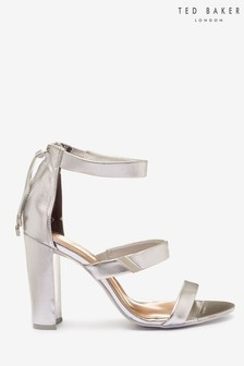 Ted Baker Silver Heeled Sandals