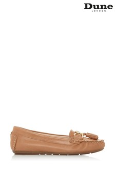 Dune London Geena Mokassin-Loafer mit Quastendetail