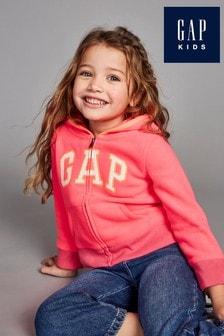 Gap Toddler Pink Logo Hoody Sweatshirt