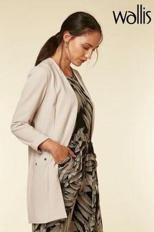 Wallis Stone Scuba Stud Detail Jacket